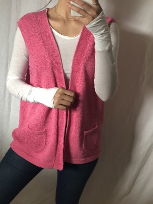 Cardigan en crochet multicolore