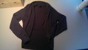 H&M Cardigan slate-gray wool