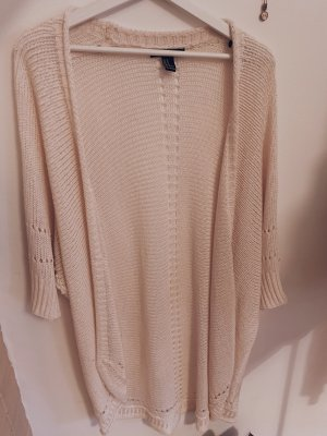 Forever 21 Knitted Cardigan natural white-cream