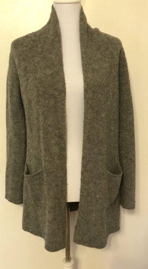 Woolrich Knitted Cardigan dark grey-grey