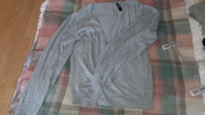 Cardigan all'uncinetto grigio