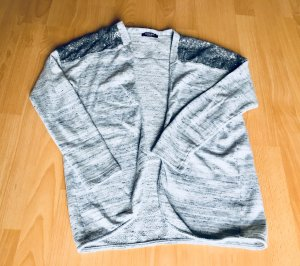 Conleys Black Giacca fitness argento-grigio chiaro Cotone