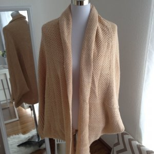 Cardigan Grobstrick Oversized S M L Nude Apricot Blogger Onesize Kuschelig