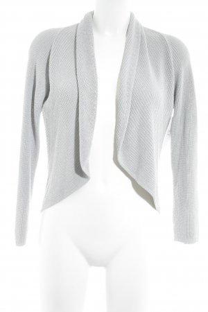 Cardigan hellgrau Casual-Look