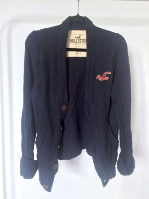 Cardigan HOLLISTER navy strick weich cozy winter knit