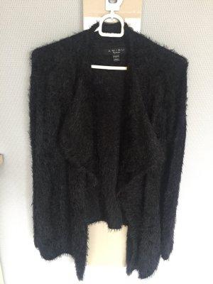 Amisu Cardigan zwart Polyester