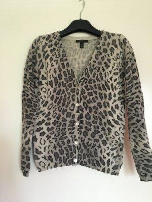 Cardigan im Leoparden-Look