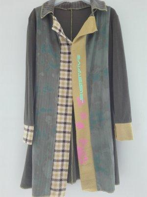 Sistemfive Robe mi-longue multicolore