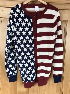 Cardigan im USA-Look