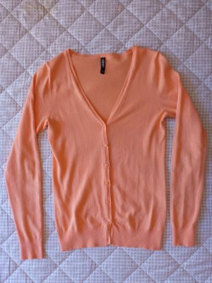 Cardigan in apricot, XS