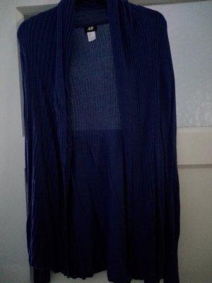 Cardigan in dunkelblau und in grau