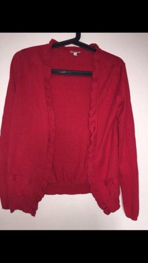Cardigan in Rot