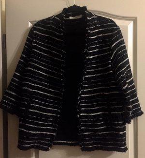 Cardigan leichte Jacke Mango schwarz weiß