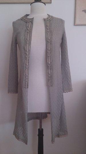 Hoss Intropia Frock Coat khaki cotton