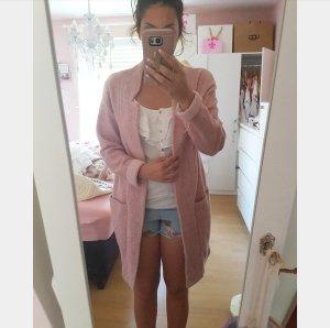 Cardigan Mantel Strickjacke S pull&bear Pullover rosa nude vintage blogger hipster boho