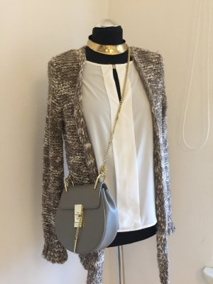 Cardigan meliert, grau braun, taupe in Onesize new H&M