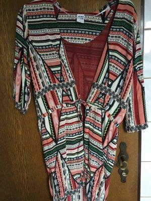 Cardigan mit buntem Muster