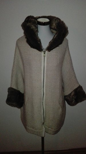 Cardigan mit fake fur