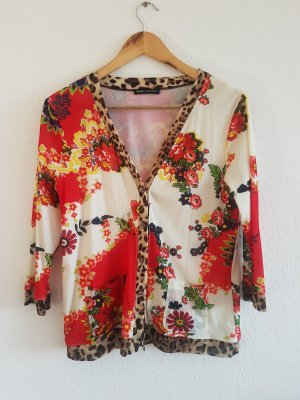 Cardigan mit floralem Muster