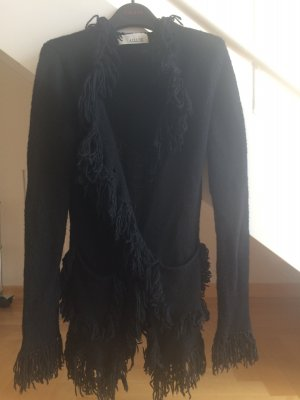 Allude Cardigan black wool