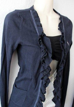 Abercrombie & Fitch Cardigan dark blue mixture fibre