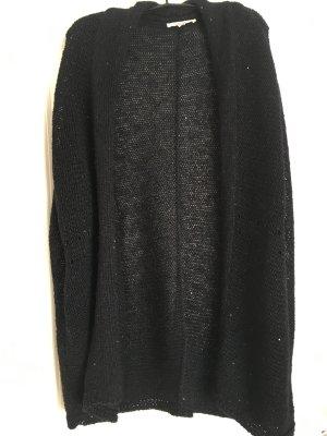 Cardigan mit schwarzen Pailletten