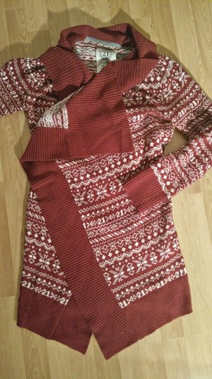 Cardigan Norweger Strickjacke