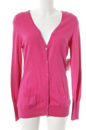 Cardigan pink schlichter Stil