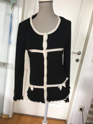 Zara Maglione lavorato a maglia nero-bianco