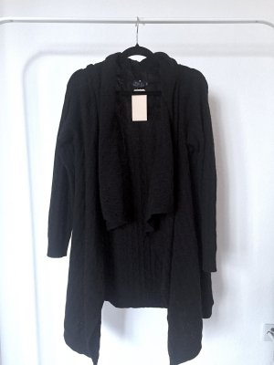 Cardigan RALPH LAUREN strick schwarz oversize winter cozy strickjacke NEU