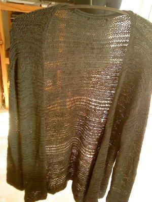 H&M Cardigan all'uncinetto grigio ardesia Tessuto misto