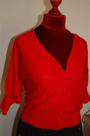 Cardigan rot Größe 10 von New look