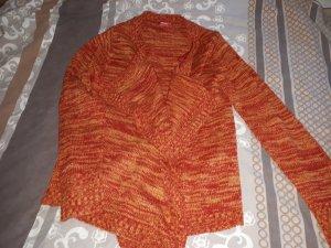 Cardigan rot/orange/gelb