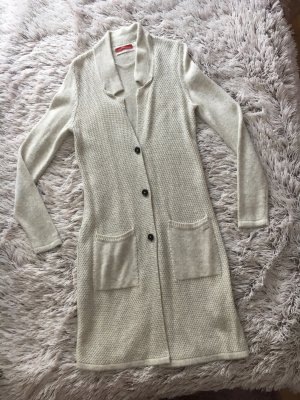 s.Oliver Cardigan all'uncinetto bianco sporco