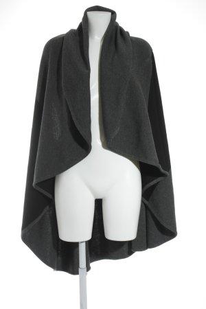 Cardigan noir-gris style décontracté