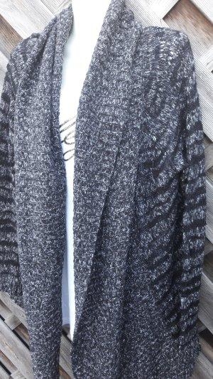 Cardigan schwarz-grau
