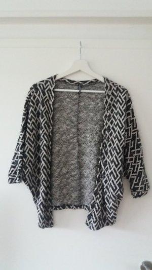 Cardigan schwarz/weiß