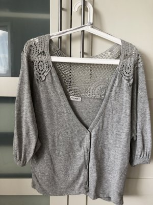 Pull & Bear Knitted Vest grey