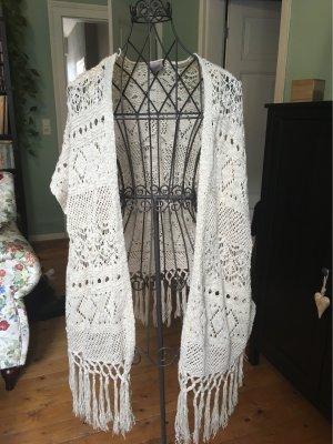 Vero Moda Short Sleeve Knitted Jacket multicolored polyacrylic