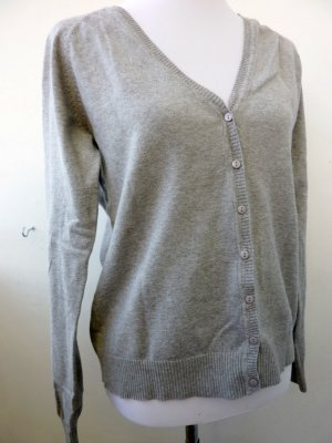 Cardigan Strickjacke grau 42