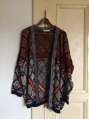 Cardigan Strickjacke Long jacket hipster bohemian oversized