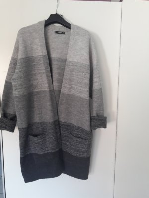 Cardigan Strickjacke Mantel lang oversized S 36