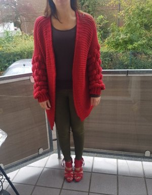 Asos Coarse Knitted Jacket multicolored