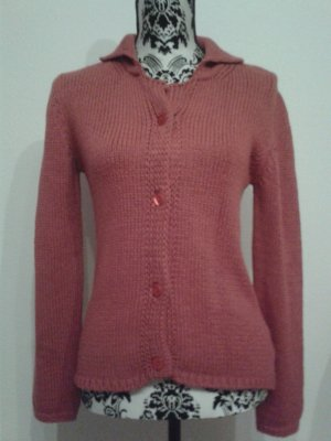 Cardigan * Strickjacke * rot * Triangl * S