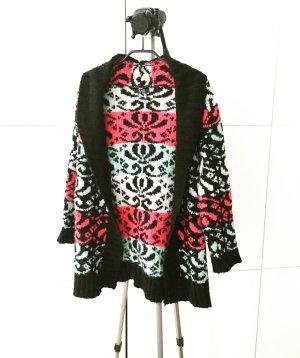cardigan / strickjacke / vintage / boho / floral / hippie / granny
