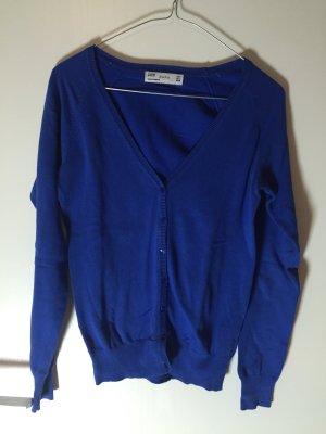 Cardigan Strickjacke Zara S 36 petrol blau