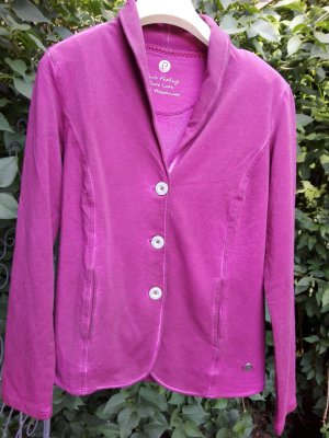 Sweat Blazer pink mixture fibre