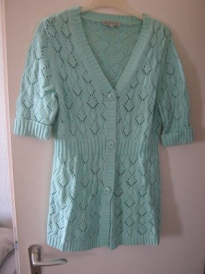 Authentic Knitted Cardigan turquoise