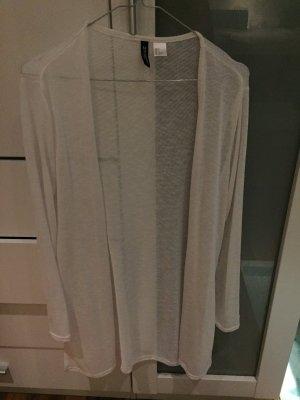 Cardigan ungetragen im Weiß