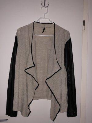 Colloseum Cardigan in maglia nero-beige chiaro